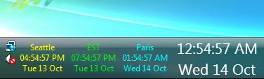 Taskbar Clock Replacement 1st